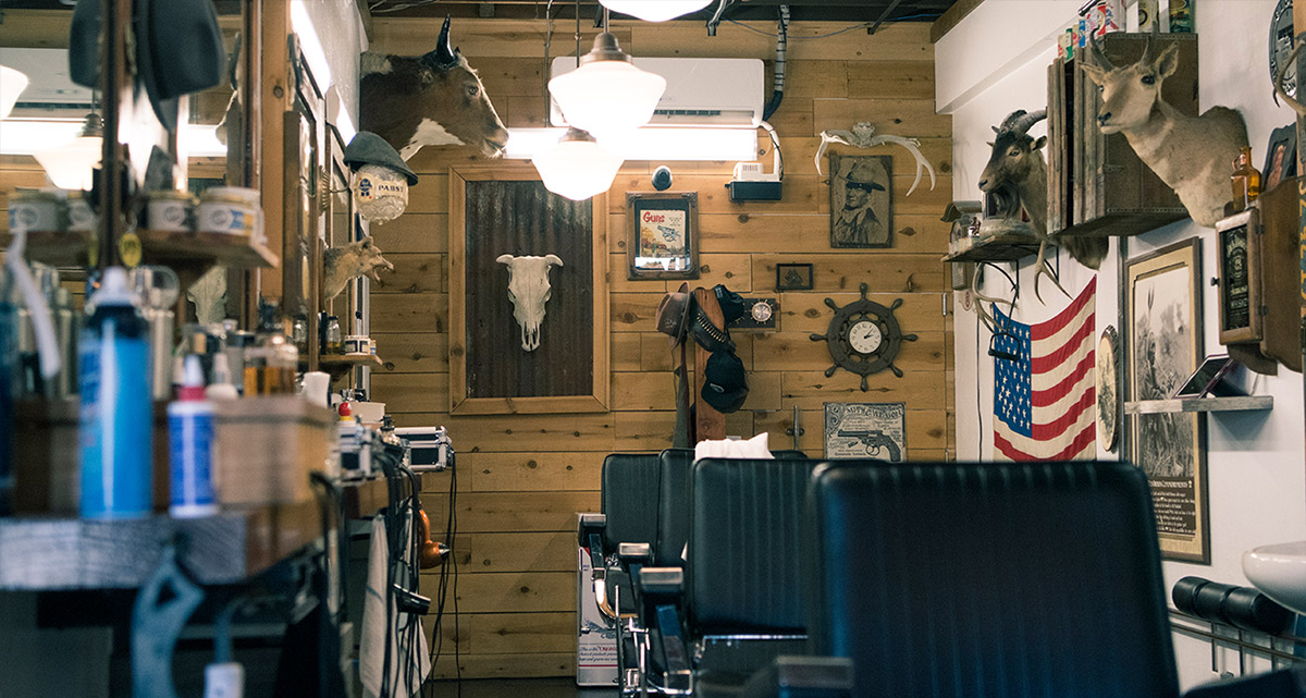 barber shop gentelman's den